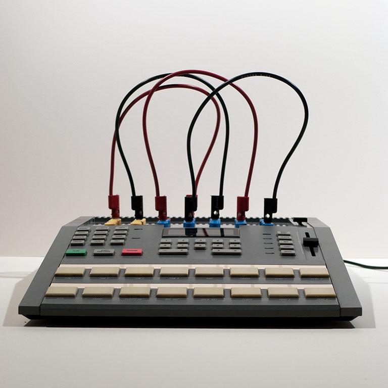 Circuit Bent Alesis HR 16 Cables